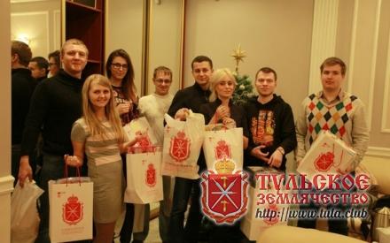 Новогодние подарки воспитанникам Заокской школы- интерната