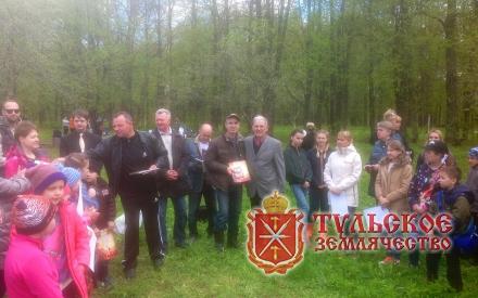 Члены Тульского Землячества совместно учащимися школы приняли участие в поездке в музей-усадьбу А.Т. Болотова «Дворяниново»